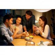 Philips Hue Phoenix Table Lamp - настолна LED лампа за маса, съвместима с Amazon Alexa, Apple HomeKit и Google Assistant   3