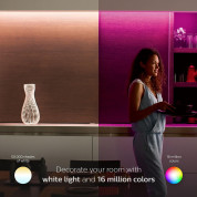 Philips Hue LightStrip Plus Dimmable LED Smart Light Extension (Compatible with Amazon Alexa, Apple HomeKit, and Google Assistant)  6