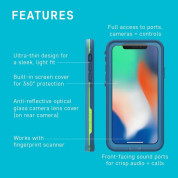 LifeProof Fre case for iPhone XS, iPhone X (chakra) 7