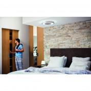 Philips Being Hue Ceiling Lamp 1x32W - комплект таванна лампа с бяла светлина и ключ за димиране за безжично управляемо осветление за iOS и Android устройства (сребриста) 3
