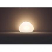 Philips Wellner Hue Table Lamp - настолнa лампа с бяла светлина и ключ за димиране за безжично управляемо осветление за iOS и Android устройства (бял) 2