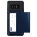 Verus Damda Glide Case - висок клас хибриден удароустойчив кейс с място за кр. карти за Samsung Galaxy Note 8 (тъмносин) 2