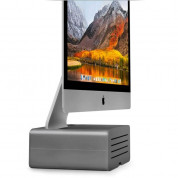 TwelveSouth HiRise Pro for iMac and Display - gunmetal 1