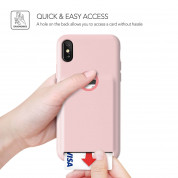 Verus Damda Fit Case for iPhone XS, iPhone X (pink sand) 5