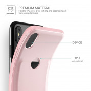 Verus Damda Fit Case for iPhone XS, iPhone X (pink sand) 4