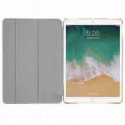 Macally Stand Case - полиуретанов калъф и поставка за iPad Pro 10.5 (златист) 3