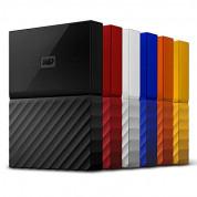 Western Digital MyPassport HDD 1TB USB 3.0 - преносим външен хард диск с USB 3.0 (оранжев) 2