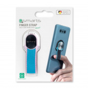 4smarts Loop-Guard Finger Strap for smartphones (white/blue/pink) 7