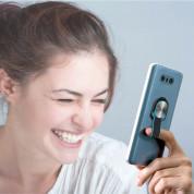 4smarts Loop-Guard Finger Strap - каишка за задържане за смартфони (син-розов)  6