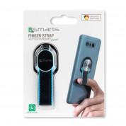 4smarts Loop-Guard Finger Strap for smartphones (black/blue) 7