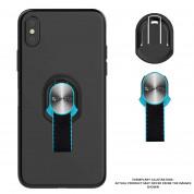 4smarts Loop-Guard Finger Strap - каишка за задържане за смартфони (черен-син)  6