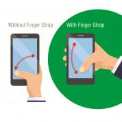 4smarts Loop-Guard Finger Strap - каишка за задържане за смартфони (черен-син)  3