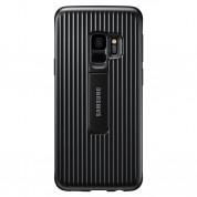 Samsung Protective Cover EF-RG960CB - оригинален хибриден кейс за Samsung Galaxy S9 (черен)