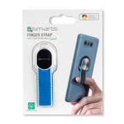 4smarts Loop-Guard Finger Strap for smartphones (white/blue) 2