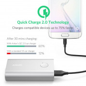 Anker PowerCore+ 10050 mAh Qualcomm Quick Charge 2.0 - silver 4