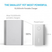 Anker PowerCore+ 10050 mAh Qualcomm Quick Charge 2.0 - silver 2