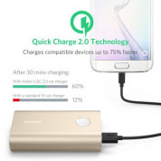 Anker PowerCore+ 10050 mAh Qualcomm Quick Charge 2.0 with PowerIQ (gold) 3