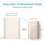 Anker PowerCore+ 10050 mAh Qualcomm Quick Charge 2.0 with PowerIQ (gold) 1