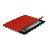 Apple Smart Cover Limited Edition - кожено покритие  за iPad 4, iPad 3, iPad 2 (червен) 4