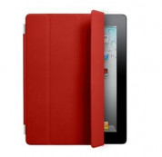Apple Smart Cover Limited Edition - кожено покритие  за iPad 4, iPad 3, iPad 2 (червен) 7