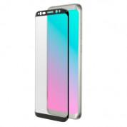 4smarts Second Glass Curved - калено стъклено защитно покритие с извити ръбове за целия дисплея на Samsung Galaxy S9 Plus (черен) 1
