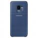 Samsung LED View Cover EF-NG960PLEGWW - оригинален кожен калъф през който виждате информация от дисплея за Samsung Galaxy S9 (син) 2