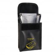 Adam Elements Fireproof Battery Bag - 2 броя орнеопорен калъф за съхранение на батериите на DJI Mavic Pro и Mavic Air (черен) 3