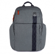 STM Kings Backpack - елегантна и стилна раница за MacBook Pro 15 и лаптопи до 15 инча (сив)
