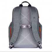 STM Kings Backpack - елегантна и стилна раница за MacBook Pro 15 и лаптопи до 15 инча (сив) 3