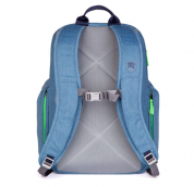 STM Kings Backpack - елегантна и стилна раница за MacBook Pro 15 и лаптопи до 15 инча (син) 3