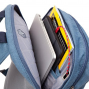 STM Banks Backpack - елегантна и стилна раница за MacBook Pro 15 и лаптопи до 15 инча (син) 2