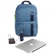 STM Banks Backpack - елегантна и стилна раница за MacBook Pro 15 и лаптопи до 15 инча (син) 3
