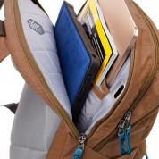 STM Banks Backpack - елегантна и стилна раница за MacBook Pro 15 и лаптопи до 15 инча (кафяв) 2