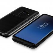 Verus High Pro Shield Case - висок клас хибриден удароустойчив кейс за Samsung Galaxy S9 (черен) 2