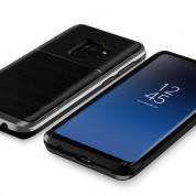 Verus High Pro Shield Case - висок клас хибриден удароустойчив кейс за Samsung Galaxy S9 (тъмносив) 2