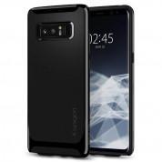 Spigen Neo Hybrid Case - хибриден кейс с висока степен на защита за Samsung Galaxy Note 8 (черен-лъскав)