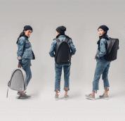 Moshi Tego Backpack - луксозна раница за Macbook Pro 15 и лаптопи до 15 инча (сив) 6
