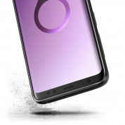 Verus Single Fit Case - хибриден удароустойчив кейс за Samsung Galxy S9 Plus (черен) 3