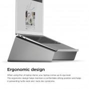 Elago L4 Stand - ергономична дизайнерска поставка за MacBook, преносими компютри и таблети (тъмносив) 6