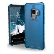 Urban Armor Gear Plyo Case - удароустойчив хибриден кейс за Samsung Galaxy S9 (син-прозрачен) 4