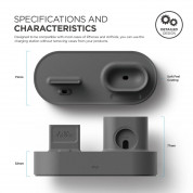 Elago Trio Charging Hub (dark gray) 2