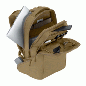 Incase ICON Backpack - елегантна и стилна раница за MacBook Pro 15 и лаптопи до 15 инча (бронз) 8