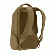 Incase ICON Slim Backpack - елегантна и стилна раница за MacBook Pro 15 и лаптопи до 15 инча (бронз) 5