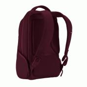 Incase ICON Slim Backpack - елегантна и стилна раница за MacBook Pro 15 и лаптопи до 15 инча (тъмночервен) 2