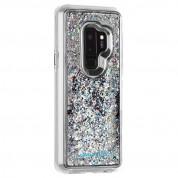 CaseMate Waterfall Case - дизайнерски кейс с висока защита за Samsung Galaxy S9 Plus (бял)