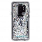 CaseMate Waterfall Case - дизайнерски кейс с висока защита за Samsung Galaxy S9 Plus (бял) 1