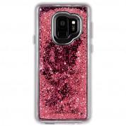 CaseMate Waterfall Case - дизайнерски кейс с висока защита за Samsung Galaxy S9 (розов) 1