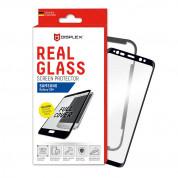 Displex Real Glass 10H Protector 3D Full Cover - калено стъклено защитно покритие за дисплея на Samsung Galaxy S8 Plus (черен-прозрачен)
