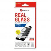 Displex Real Glass 10H Protector 3D Full Cover - калено стъклено защитно покритие за дисплея на Samsung Galaxy S8 (черен-прозрачен) 2
