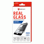 Displex Real Glass 10H Protector 3D Full Cover for Samsung Galaxy S7 (black) 2